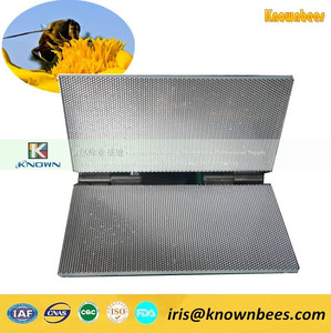 Beeswax foundation machine, notebook type size customized beeswax foundation sheet mold