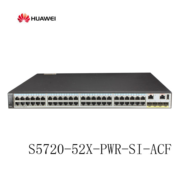 Huawei 社 S5720-52X-PWR-SI-AC 層 3 イーサネットスイッチ 48 PoE スイッチ