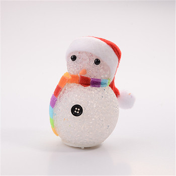 High Quality cheap wholesale Festival Decoration Christmas gift snowman lamp