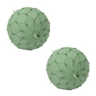 """6"""" Netted Oasis® Floral Foam Spheres (Pack of 2)"""