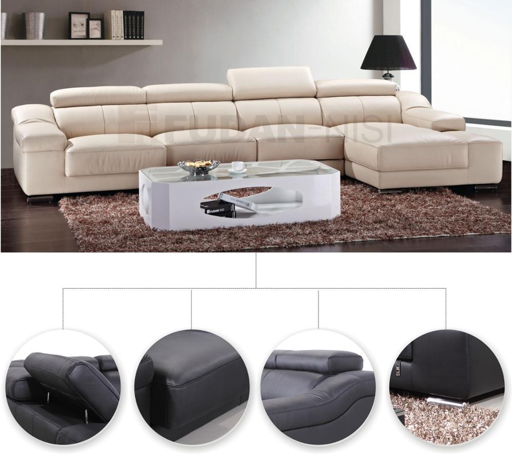 Hot Selling Nieuwe L Vormige Lounge Suite Woonkamer Moderne Bank ...