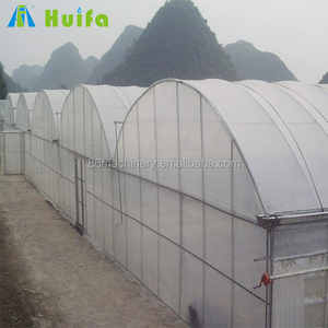 Agriculture & commercial used greenhouse large multi-span plastic green house