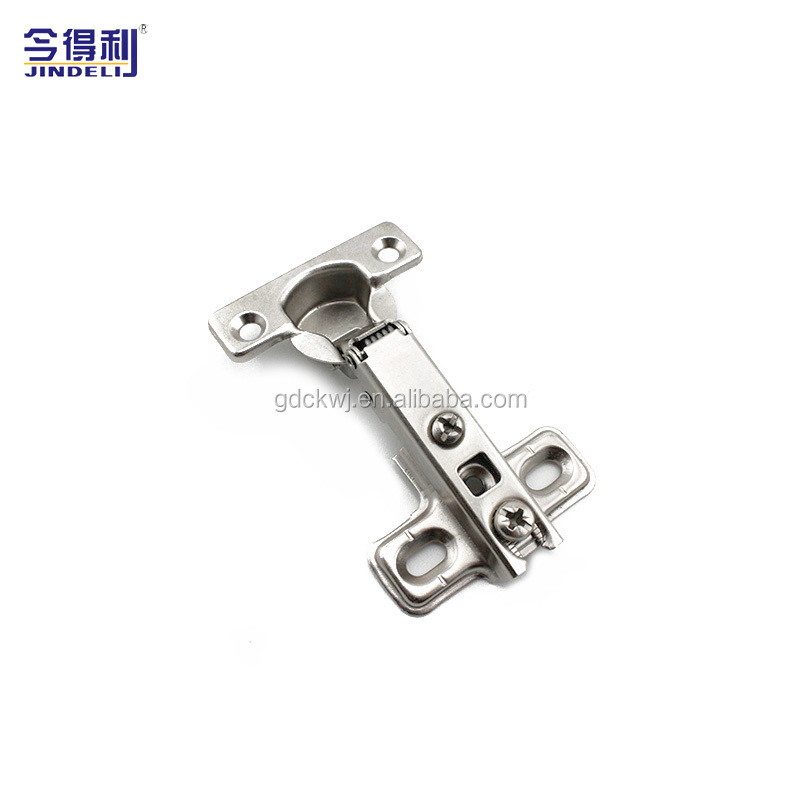 B-19MT 2 Hole Quality Adjustable Furniture Cabinet Slide On Soft Closing Hinge