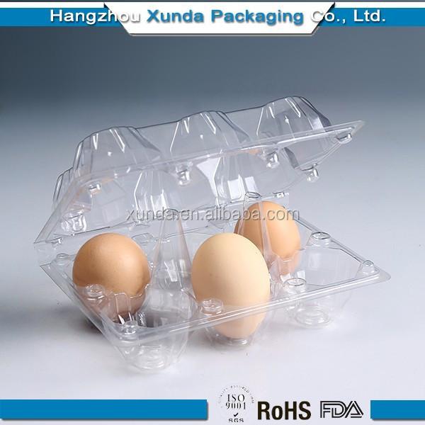Embalaje para huevos de envases de pl stico para 6 8 - Envases de huevos ...