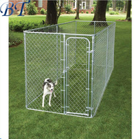 Alibaba top sale PET dog cages / large dog pen / chain link fence wire mesh dog fence