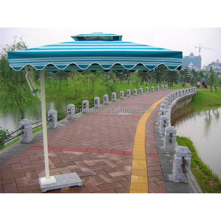 High quality modern banana hanging outdoor garden large patio umbrella