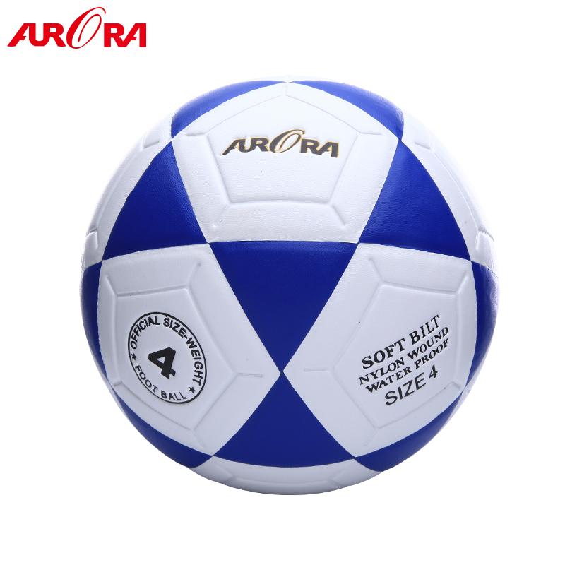 Hot sales PVC custom soccer ball size 4 sport football