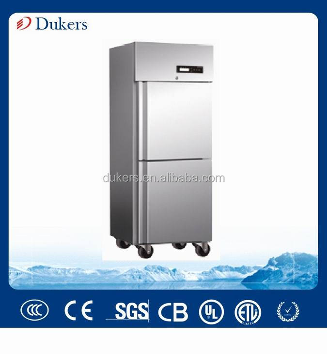 304 Stainless steel Kitchen fridge freezer and <strong>Refrigerator</strong> for Meat, Fish and Frozen Food
