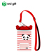 2018 Carton PVC TPU waterproof smartphone bag mobile phone accessory pouch with panda locker
