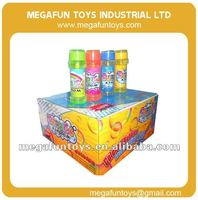 Magic Plastic bottle of bubble water for kids