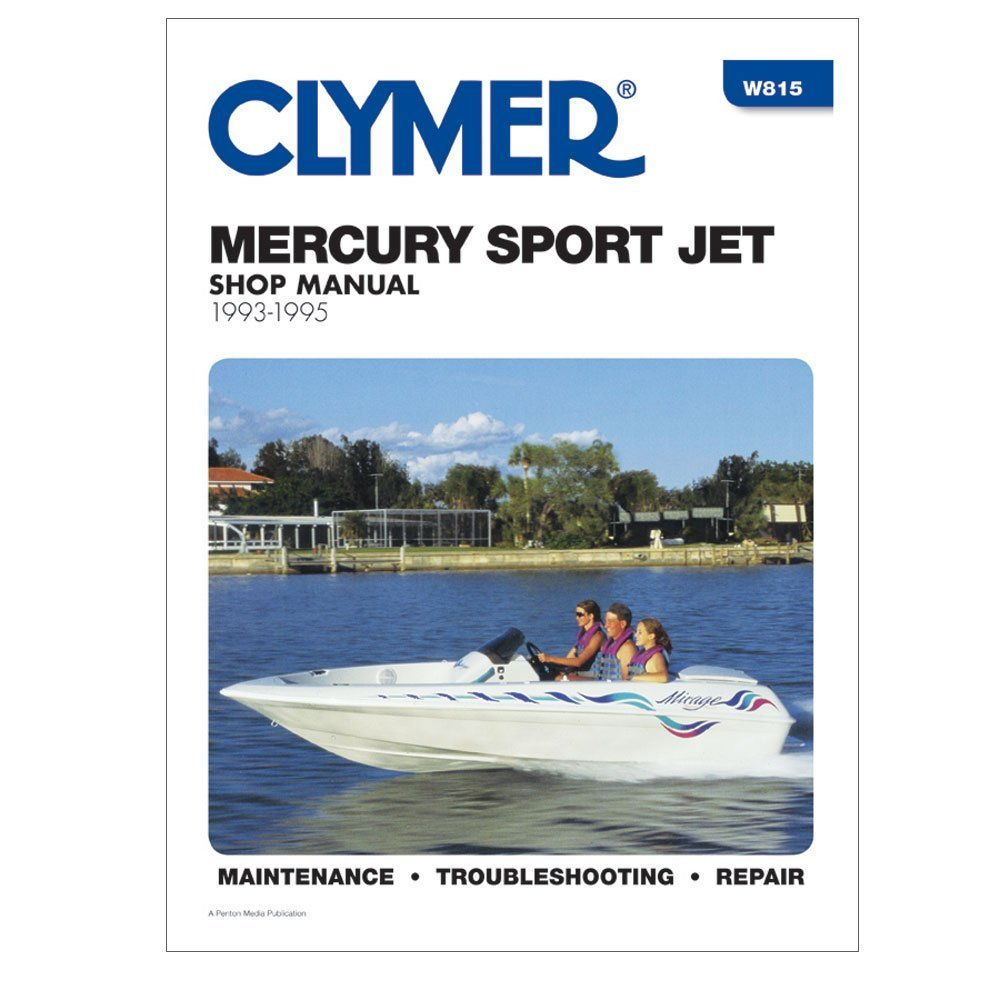 Get Quotations · Clymer Repair Manual Mercury Sport Jet 90 and 120 HP  1993-1995