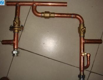 Precision Welding Copper Manifold Header Copper Pipe Fittings Buy