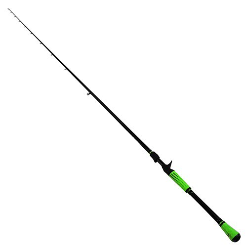 "Lew's Fishing MHPR Lews Fishing, Mach Speed Stick Casting Rod, 7'4"" Length, 1Piece Rod, 15-65 lb Line Rating, Heavy Power"
