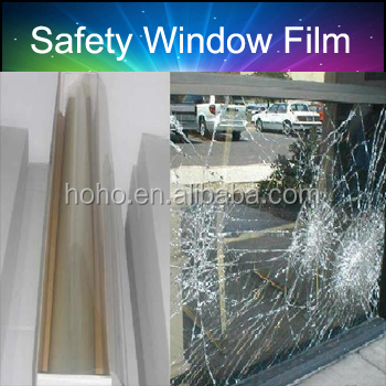 Polyester (PET) film backing TAPE for safety glass interlayers films