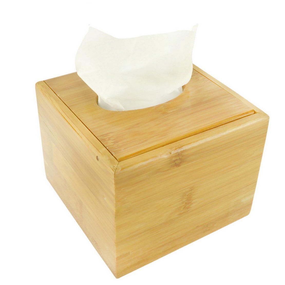 Dining table Bedroom Hotel tissue boxes paper pumping pumping cassette tray bamboo hotel living room at home pumping tissue box pumping tray, tissue boxes pumping tray table, bamboo tissue box pu