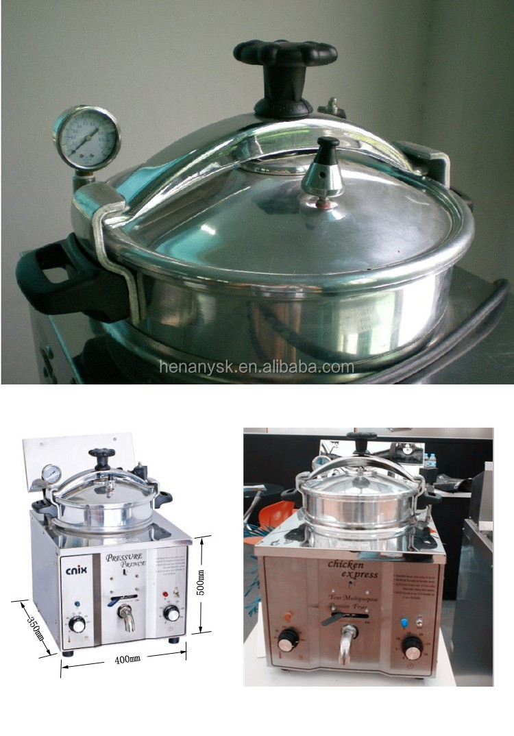 Small KFC Fried Mini Electric Pressure Deep Fryers for Chicken