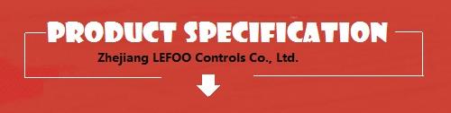 LF55 LEFOO CE מוסמך אוטומטי איפוס קיטור לחץ בקר