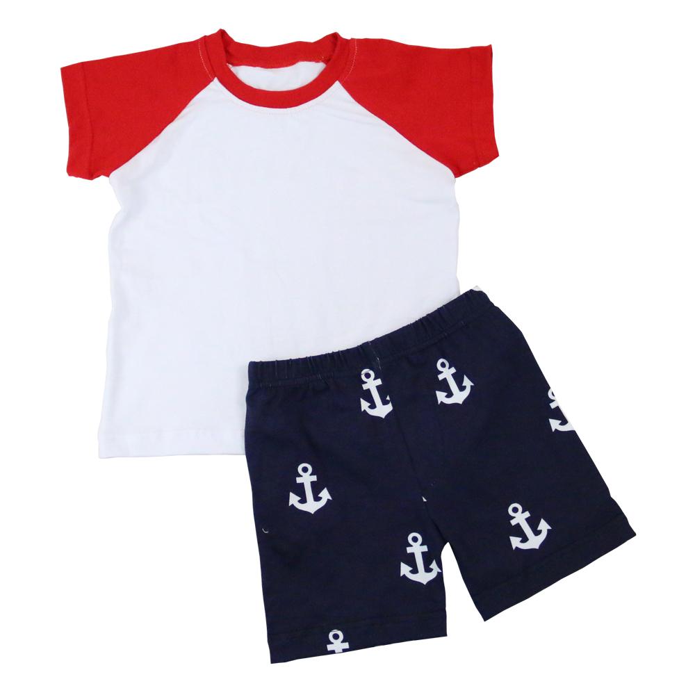 Bulk Wholesale Baby Boy Boutique Fashion Clothes Newborn Baby Cotton