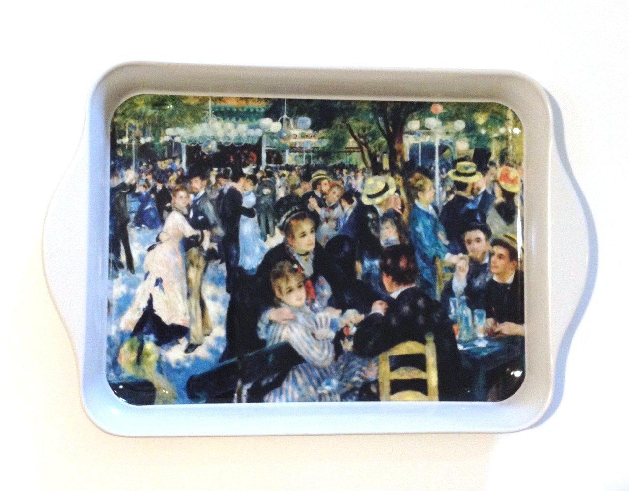 """Tray - """"Dance at Le Moulin de Galette"""" - by Renoir (Tin) 8 1/4"""" x 5 1/2"""""""