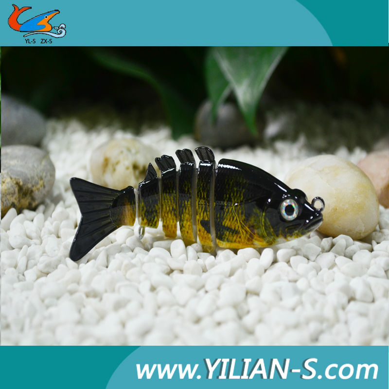 lowest price good quality lee fishing gear! 6 jointed 3D eyes lee fishing gear