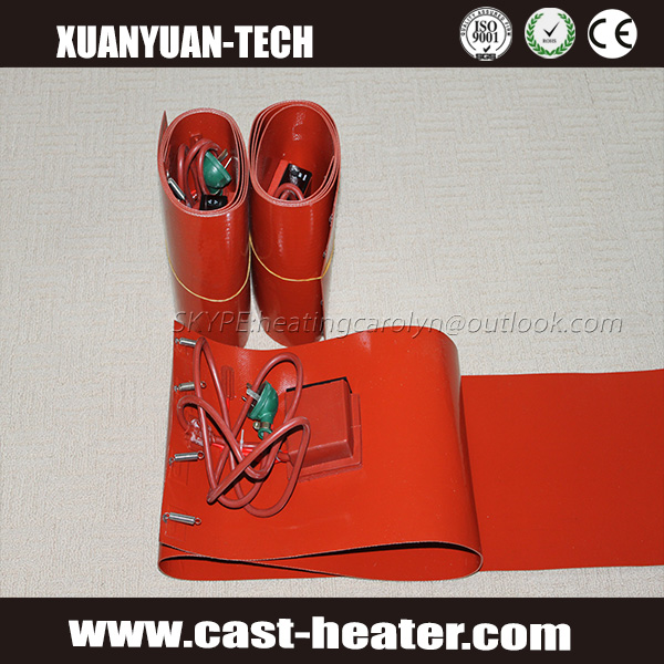 Flexible Silicone Rubber oil Drum Heater Band