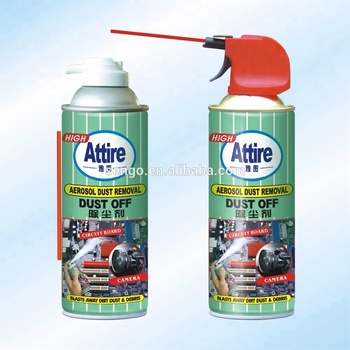 China supplier Compressed gas dust-off cleaning air duster for computer