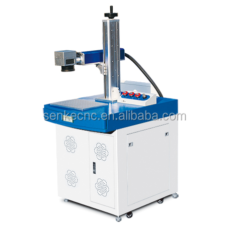 fiber laser marking machine 50w for LED,glass,acrylic,metal,stainless steel,name card,wedding,date,package