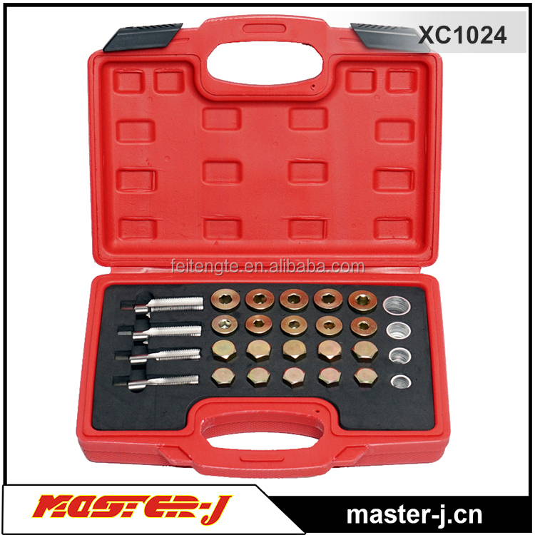 64 Pcs Plus Washers Oil Pan Thread Repair Set Car Repair Tool