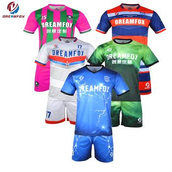 b2ca4cdf5 2018 Football training kit Custom dye sublimation soccer jersey Germany soccer  jersey kids set