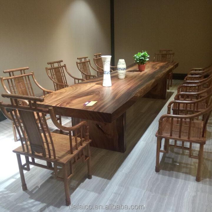 F Yh 2 Moderne Mobilier De Bureau En Bois Massif Table De