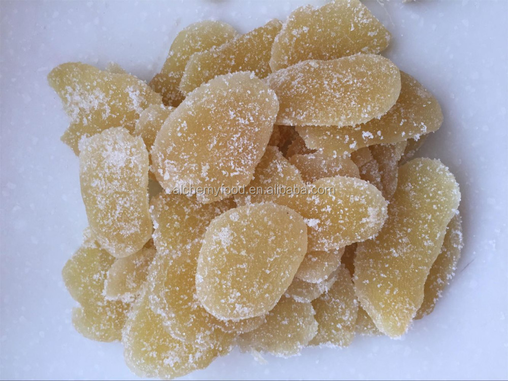 Delicious Ginger Dice with Sugar for export and free sample