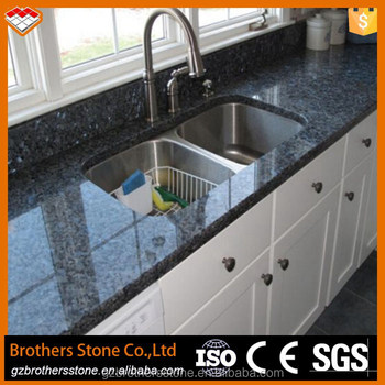 Blue Pearl With White Cabinets Granite Slabs Prices Popular Color