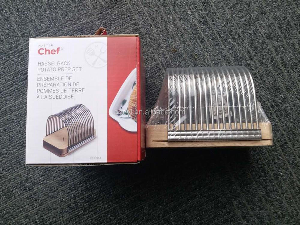 USA supper market web selling hot sells item potato chip slicer,stainless steel slicer french fry cutter potato vegetable