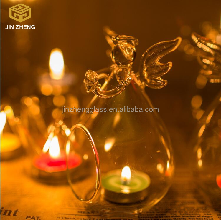 Hanging TeaLight Candlestick Clear Wedding Table Christmas Home Decor