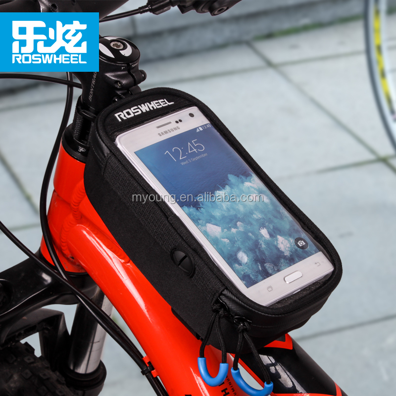 Roswheel New Style Top Tube Mounted EVA Bicycle Bike Phone Bags