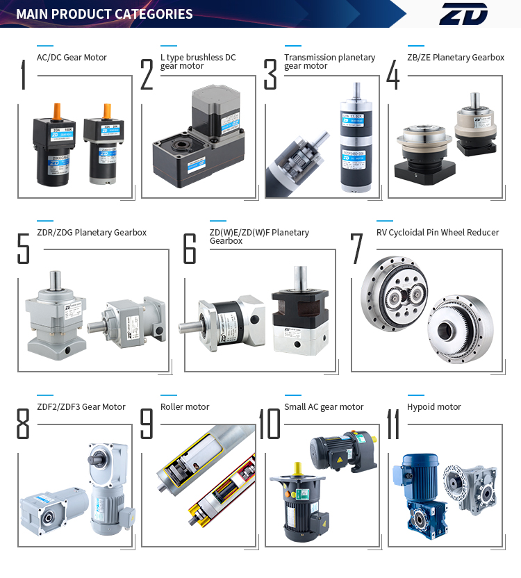 Brush/Brushless DC Planetary Gear Motor Technical,82mm, dc motor 90W120W 180w,12V 24V 48V dc gear motor