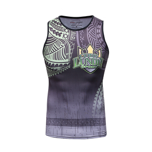 Custom Printing Running Sportswear Sweat-wicking Mens Gold Gym Wrestling Singlets