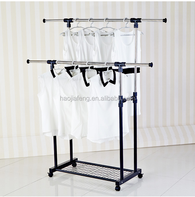 Gw 528 Eco Friendly Double Pole Stainless Steel Laundry Hanging Clothes Drying Rack Malaysia