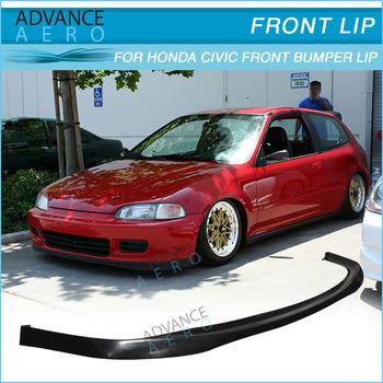 For Honda Civic Eg 2 3dr Sir Style Pu Auto Parts Car Accessories 92 95 Buy Forhonda Civic Bumper Lip 92 95 For Honda Civic 2 3 Dr Sir Style Lip