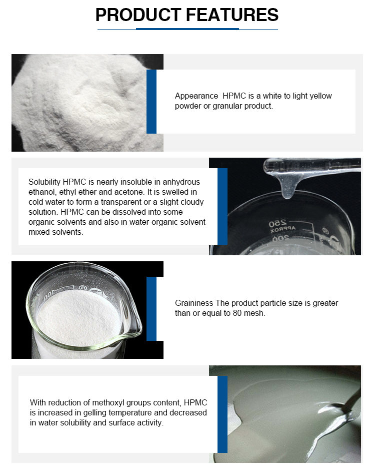 HPMC best price for tile adhesive cement based, high viscosity, good slip resistance