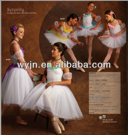 2015 girl's elegent long ballet dance tutu/costume-women's' dance skirt -children and adults'dancewear-ballet costumet