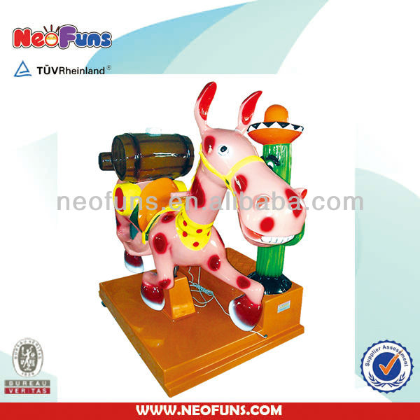 NF-K63 kiddie rides amusement machine Drunk Donkey