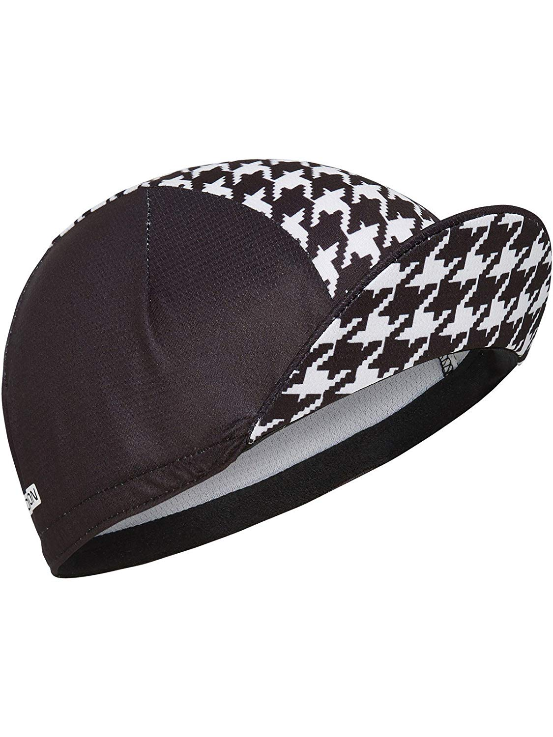 0a269fcf8a8f6 Get Quotations · Madison Houndstooth Black-White 2017 Roadrace Premio Cycling  Cap (Default