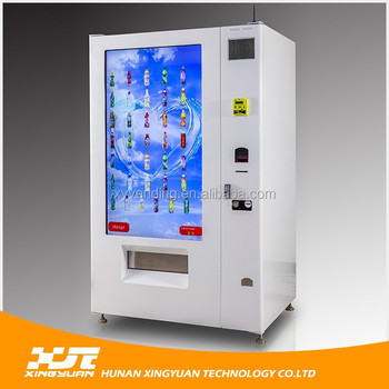 Full Touch Screen Coffee Vending Machine,Interactive Vending Machine