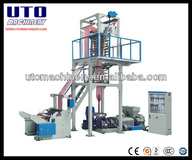 hdpe blown film extrusion line