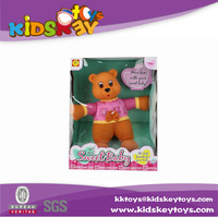 Chinese manufacturer birthday gifts 12-inch vinyl doll bear doll vinyl bear doll