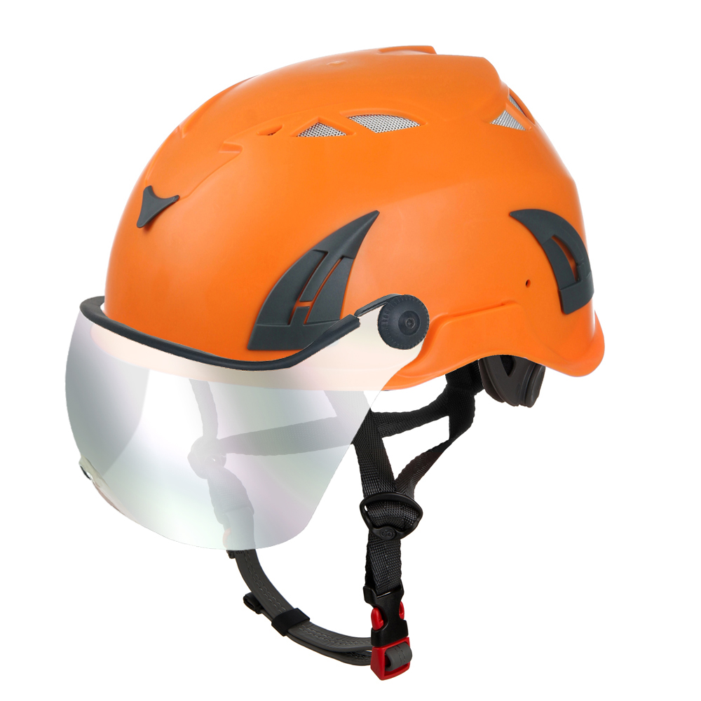electrical-safety-helmet-with-mirror-visor-smoked