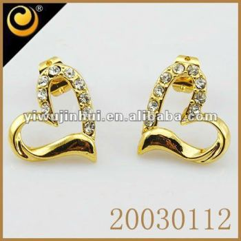 women with product buy online pearl earrings golden elegant swanvi for