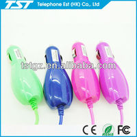 1m Colorful Car Charger with USB 3.0 Cable