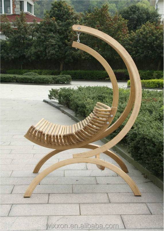 Wooden Swing Chair Hanging
